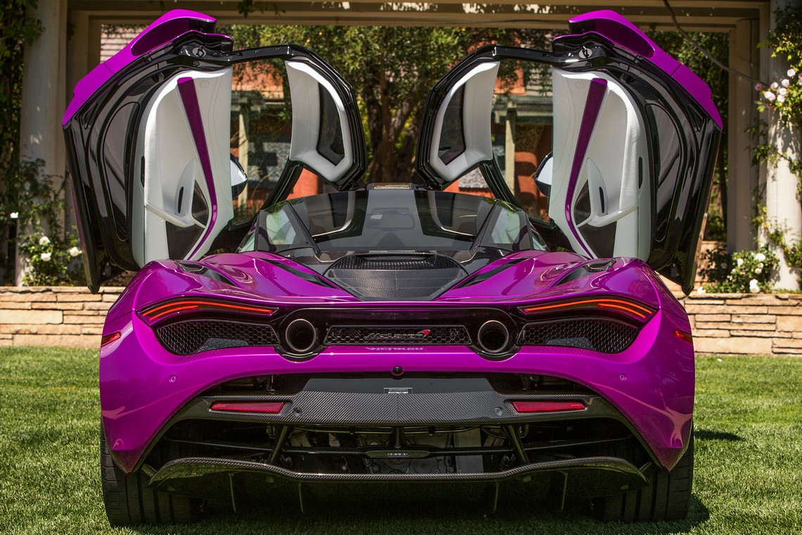 McLaren 720S Mr Fux Dietro