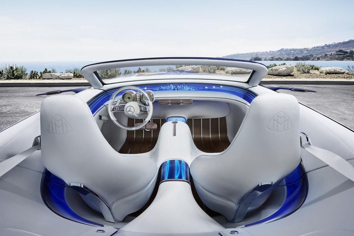 Vision Maybach 6 Cabriolet Interni
