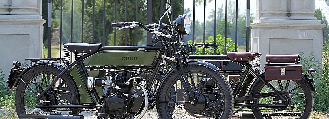 The Black Douglas Motorcycle Co Sterling Autocyle