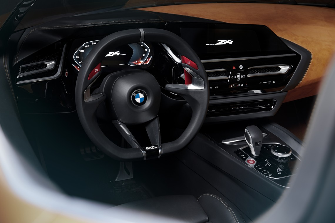 BMW Z4 Concept Cruscotto