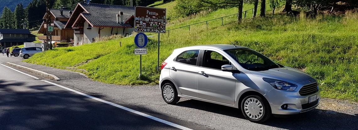 Ford KA+ Prova su strada