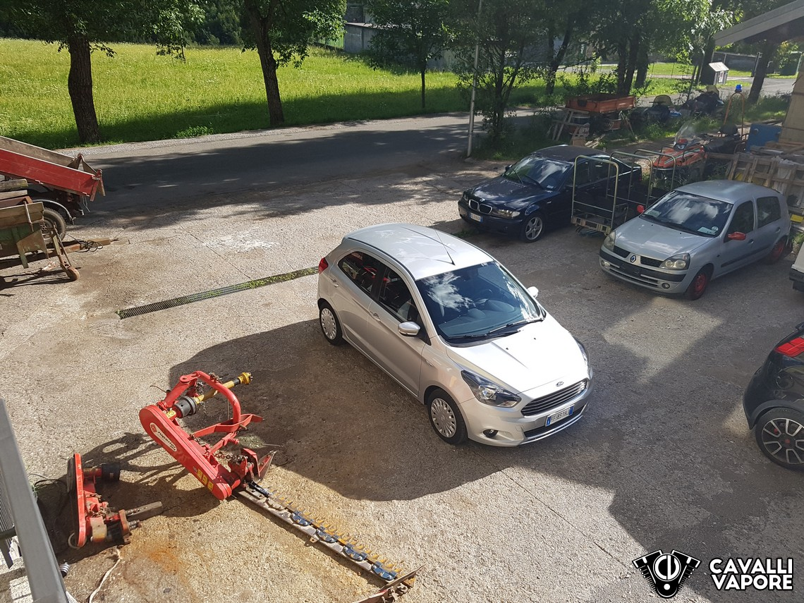 Ford KA+ Prova su strada Alto