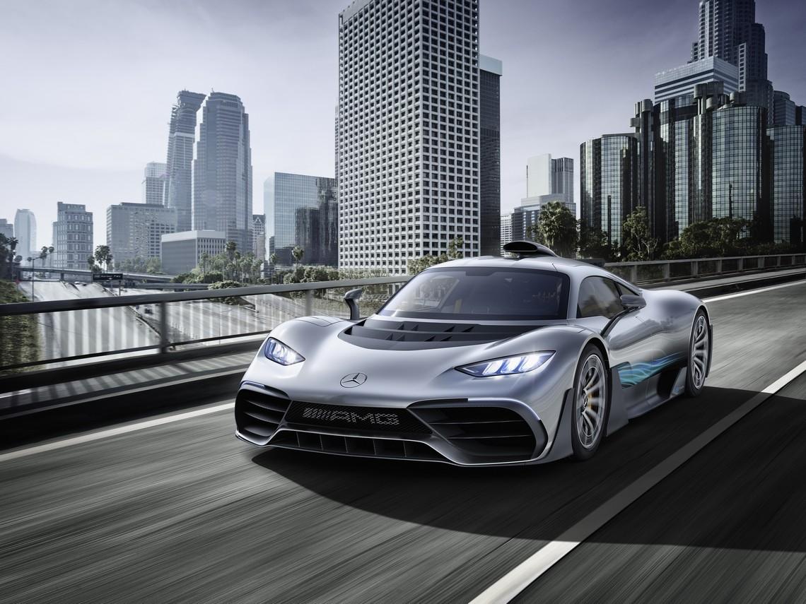 Mercedes AMG Project ONE Davanti