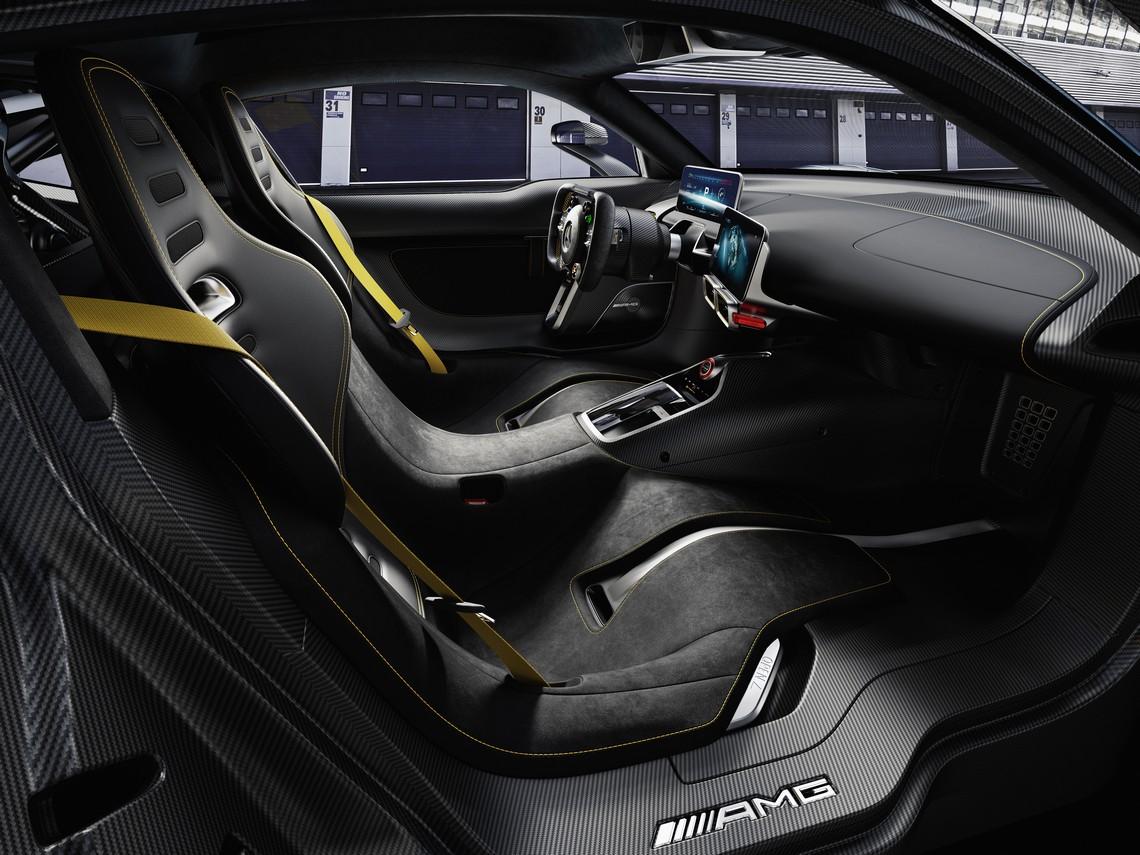 Mercedes AMG Project ONE Sedili