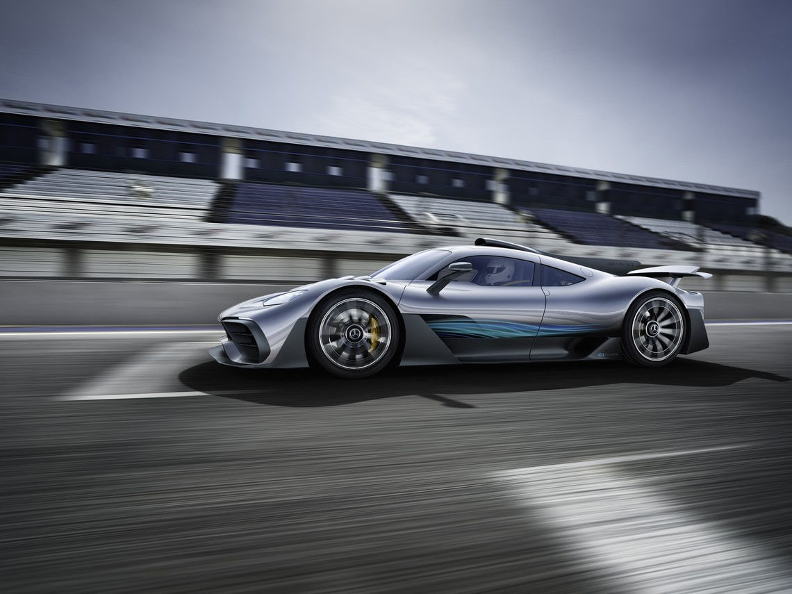 Mercedes AMG Project ONE Dinamica