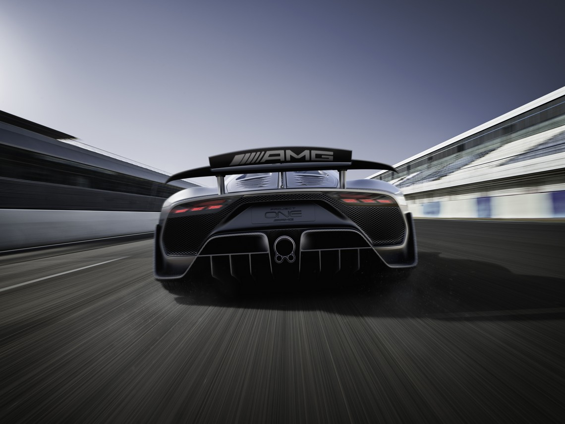 Mercedes AMG Project ONE Dietro
