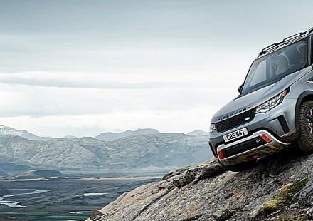 Land Rover Discovery SVX Discesa