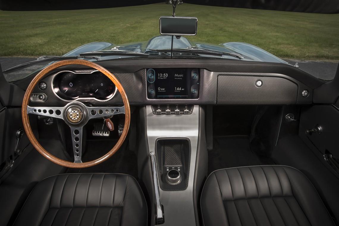 Jaguar E-Type Zero Cruscotto