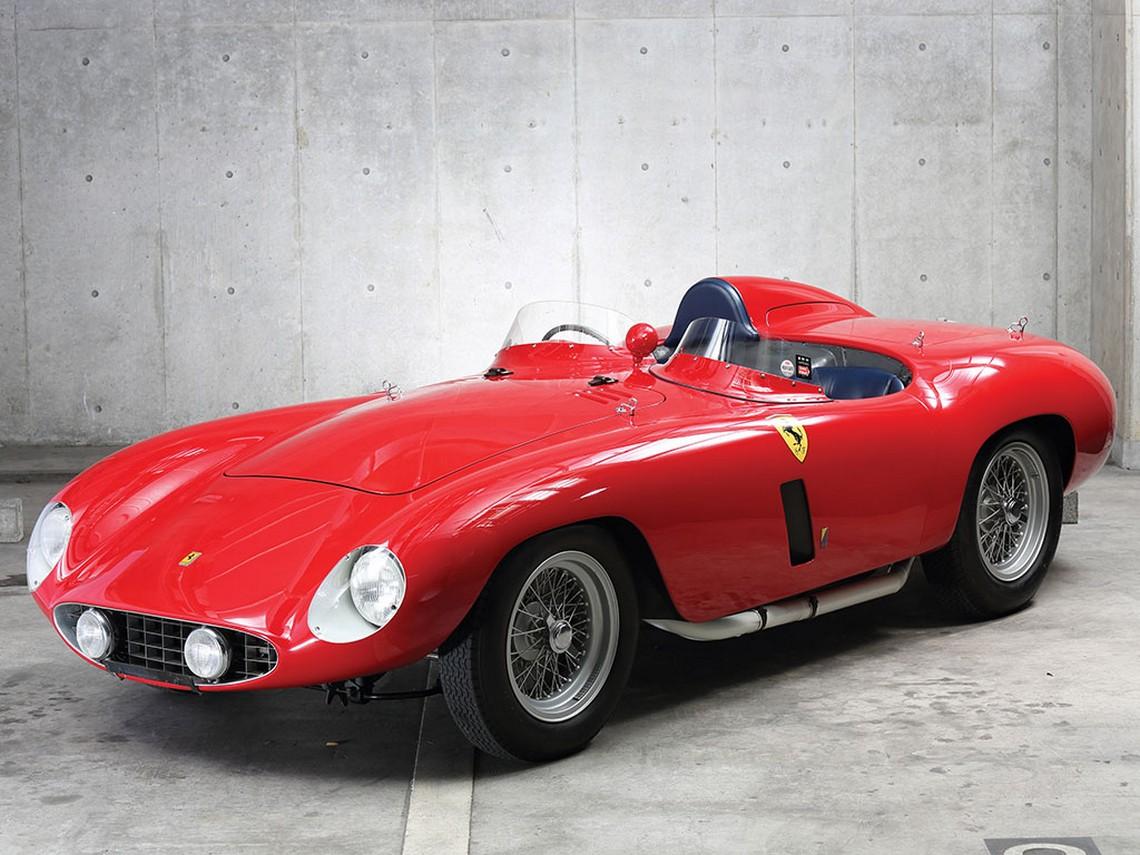 Ferrari 750 Monza Carrozzeria Scaglietti anno 1955 - Asta Ferrari