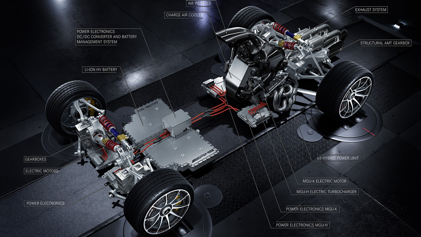 AMG Project ONE Powertrain
