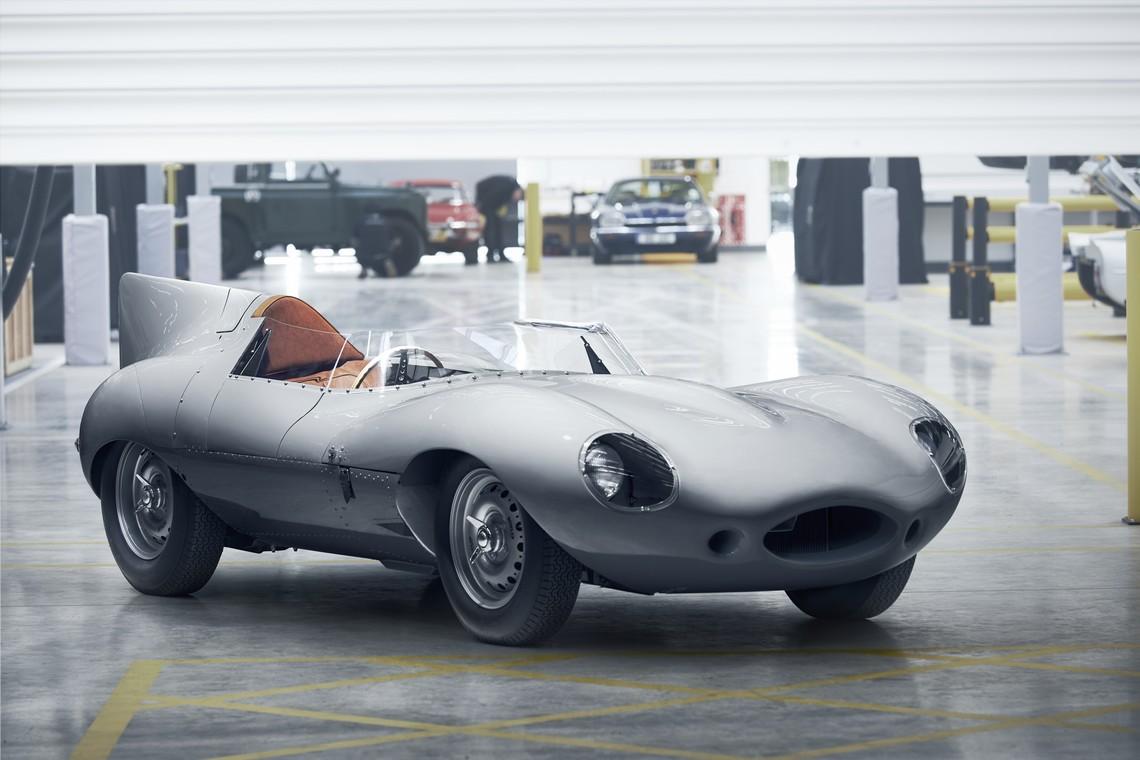 Jaguar D-Type Tre Quarti