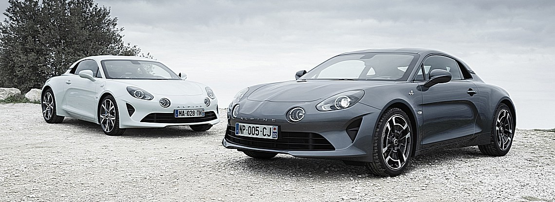 ALPINE Pure e Légende