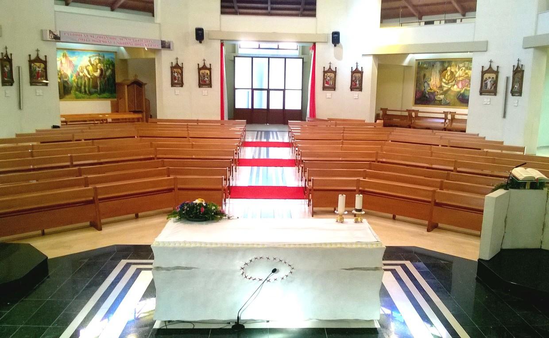Chiesa Cattolica Albanese, nella Cattedrale Madre Teresa di Vau i Dejes,AL
