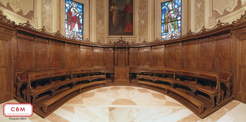 Restauro coro Chiesa parrocchiale S.Antonio Martire - Ficarolo (RO)