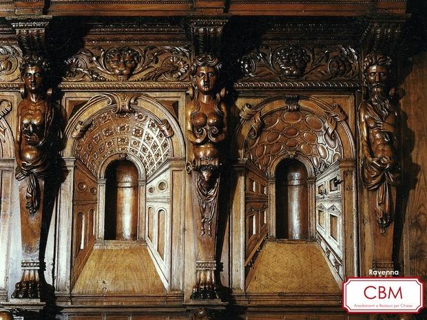 Restauro - Coro di Ravenna