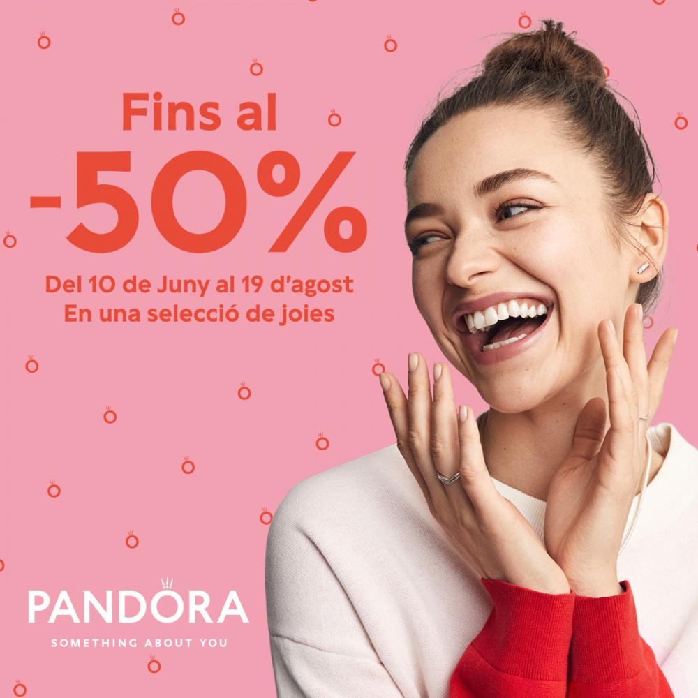 ¡Date un capricho! Descuentos de hasta el 50% en Pandora