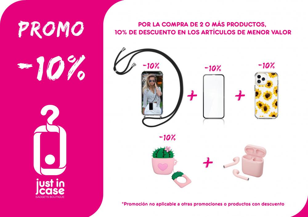 Just in case: promo -10%