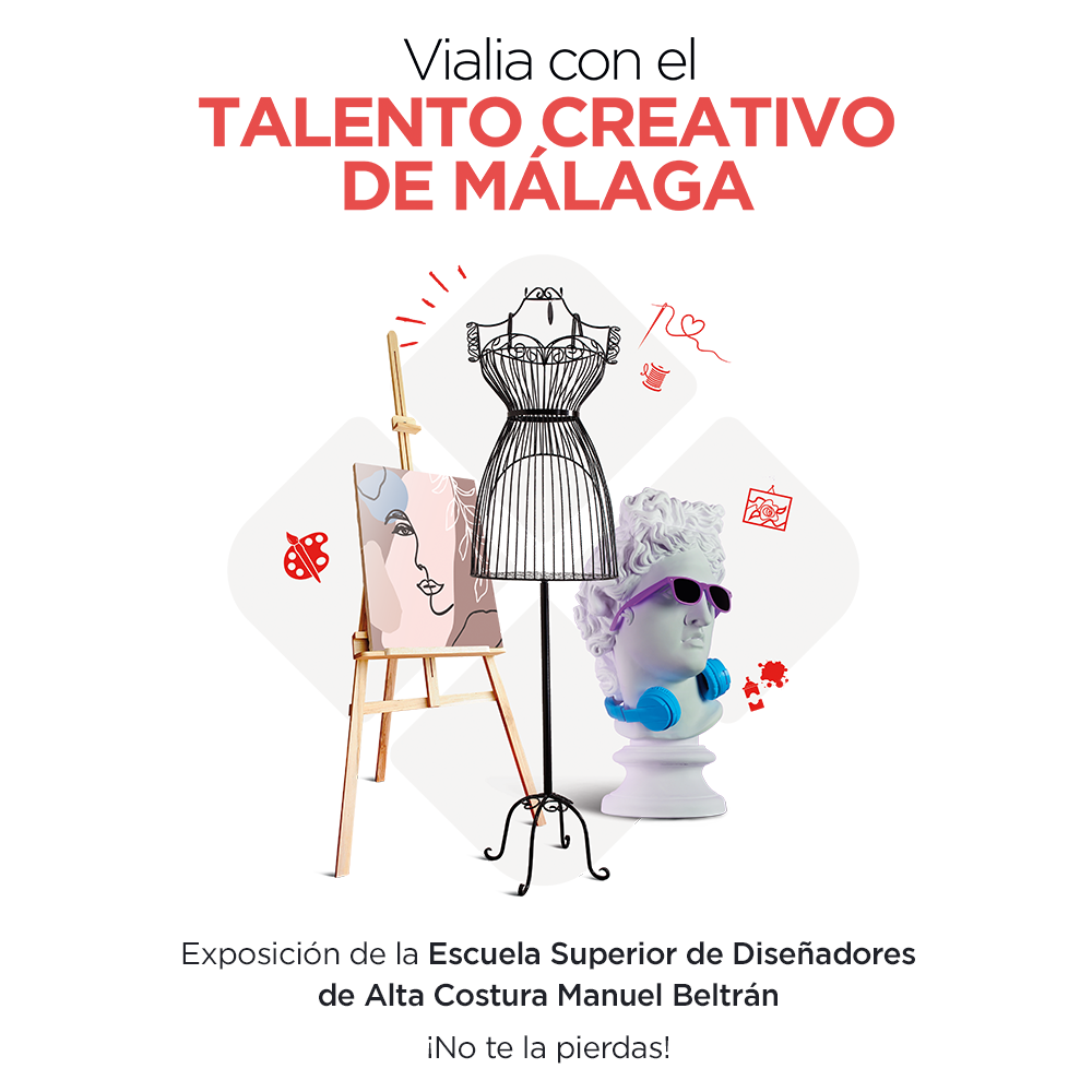 Vialia hosts an exhibition by the Manuel Beltrán School of Design