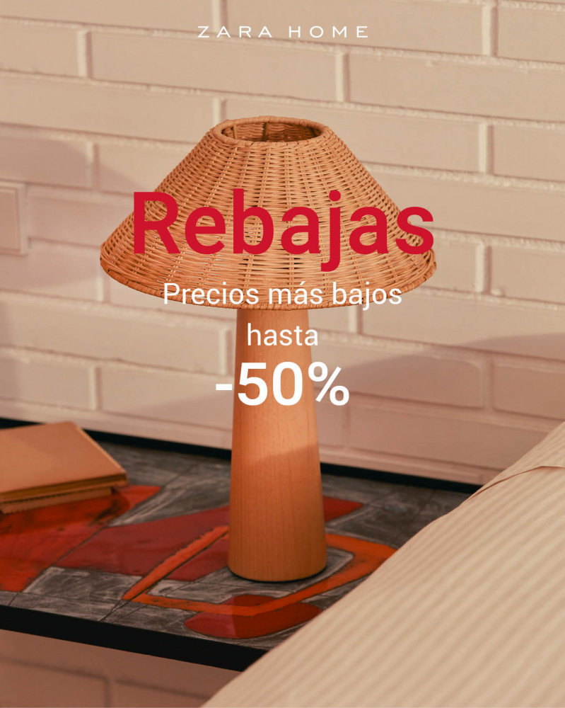 Precios más bajos en Zara Home: ¡descuentos de hasta el 50%!