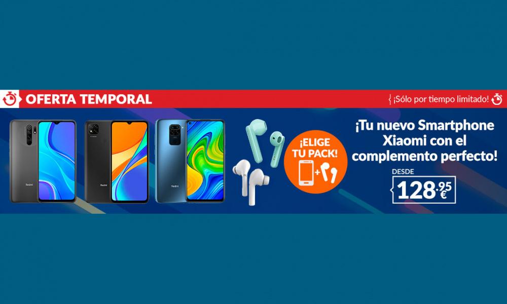 GAME: SMARTPHONE XIAOMI CON INALÁMBRICOS DESDE 128,95€