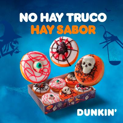 ¡Descubre los Dunkins más terroríficos!