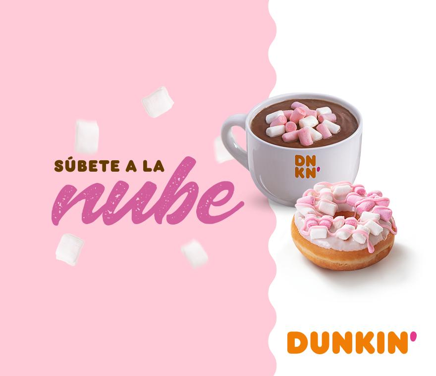 ¡Súbete a la nube con nuestro Dunkin'Coffee!