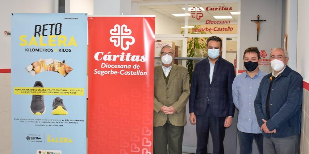 Donamos 5.000 kg de alimentos al comedor social de Cáritas Diocesana de Segorbe-Castellón