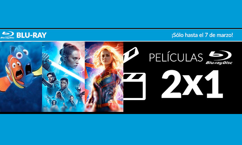 GAME: 2x1 EN PELÍCULAS