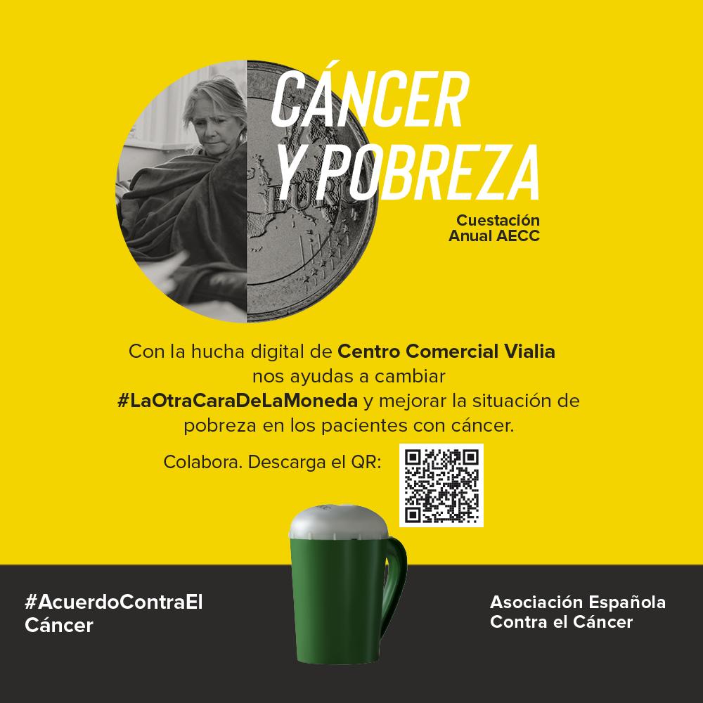 ¡Colabora con la Asociación Española Contra el Cáncer en Vialia!