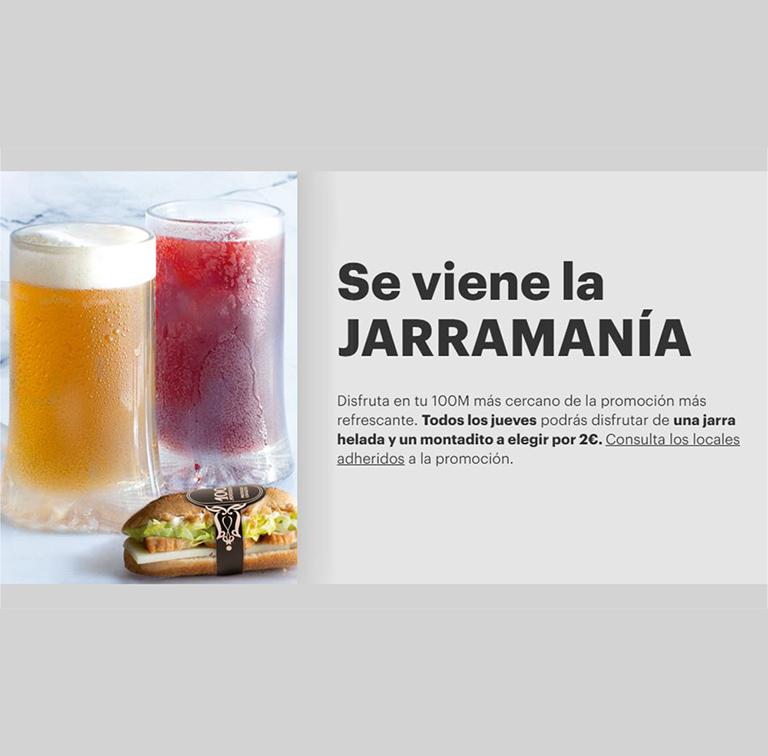 JARRAMANÍA POR 2€