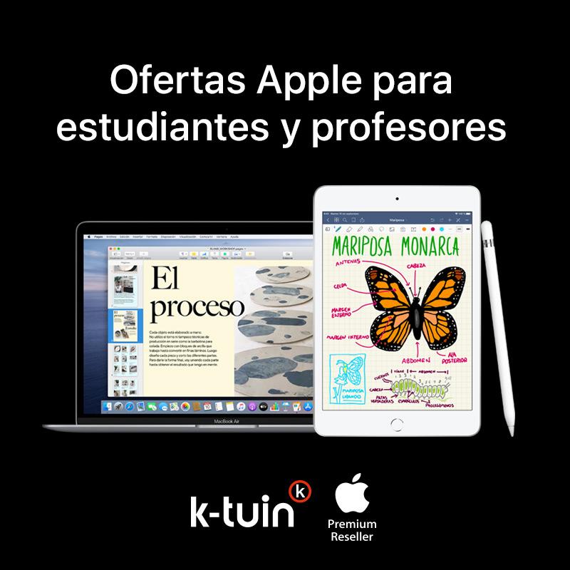 Ofertas Apple para estudiantes y profesores