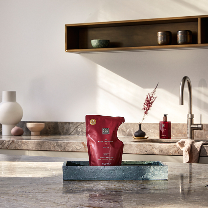 Prueba el set de jabón de manos de Rituals