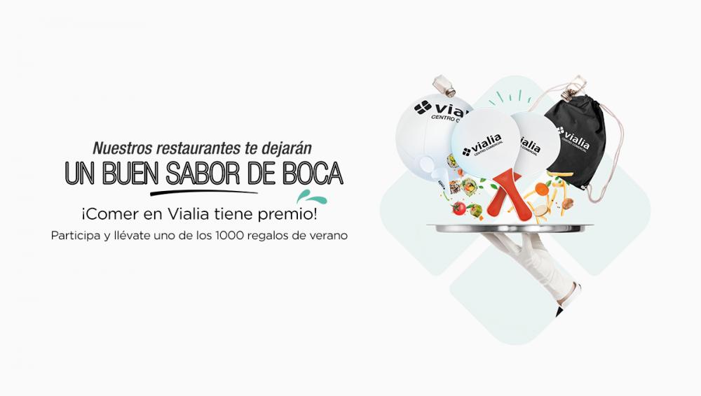 Este verano, ¡comer en Vialia Málaga tiene premio!