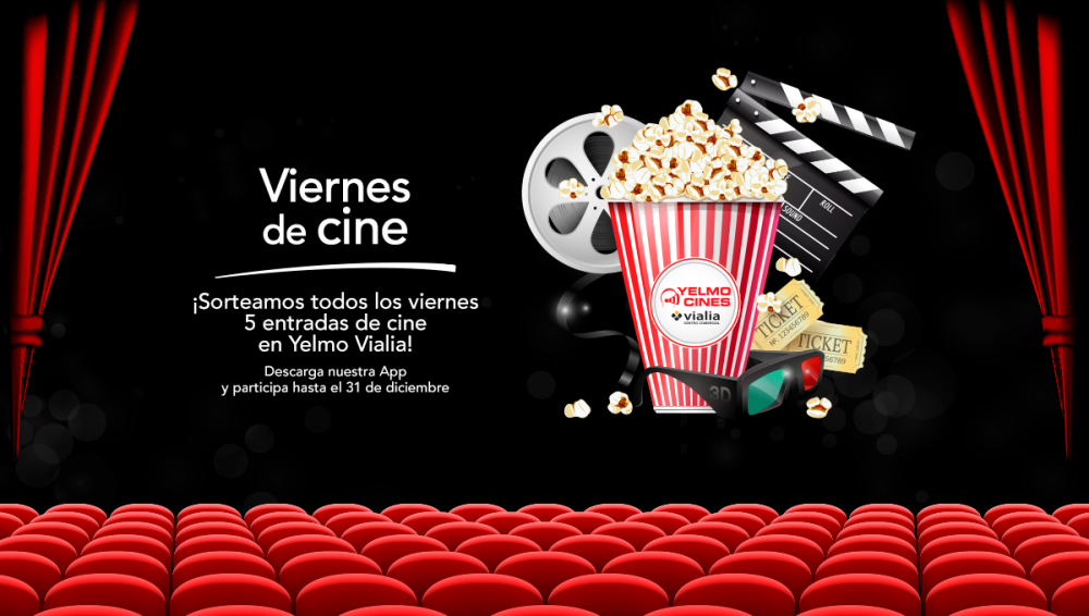 More prize draws to win cinema tickets until the end of the year!