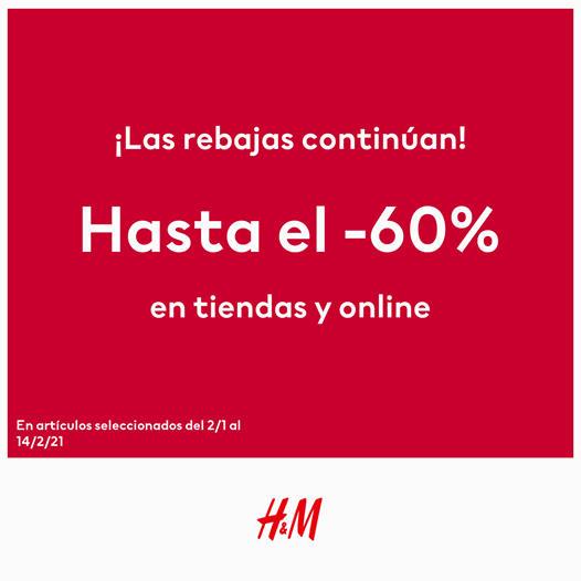 ¡REBAJAS EN H&M!