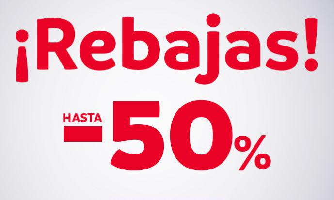 MAYORAL: 50% DE DESCUENTO