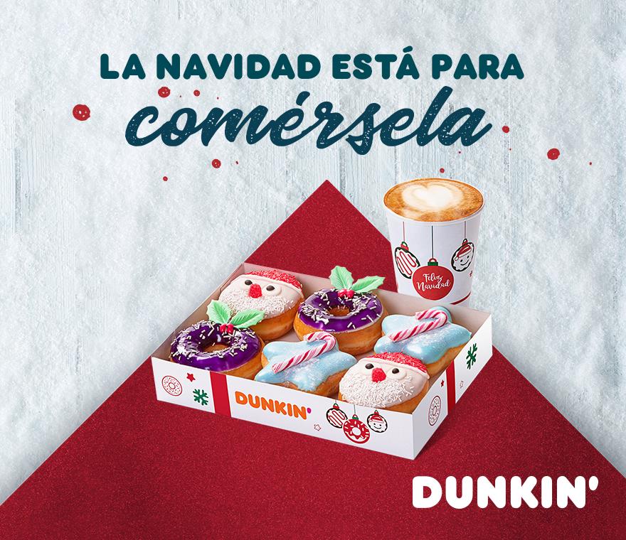 La Navidad está para comérsela en nuestro Dunkin'Coffee