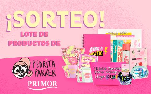 ¡Sorteamos un lote de productos de Pedrita Parker!