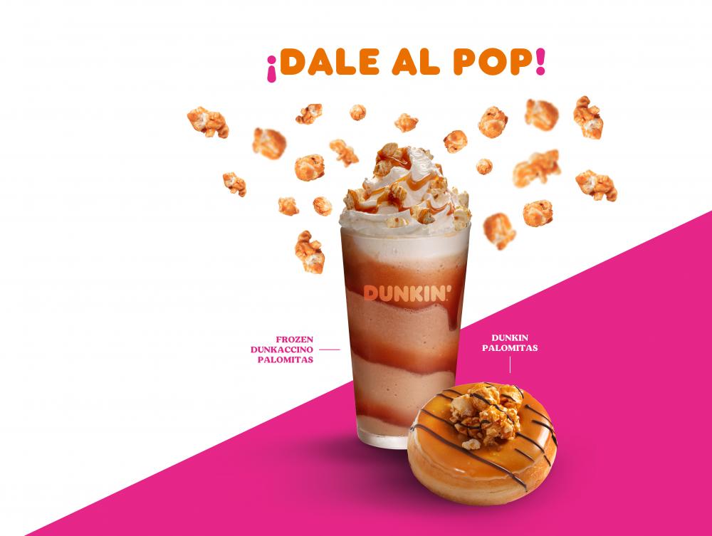 ¡Prueba el nuevo Dunkin Palomitas!
