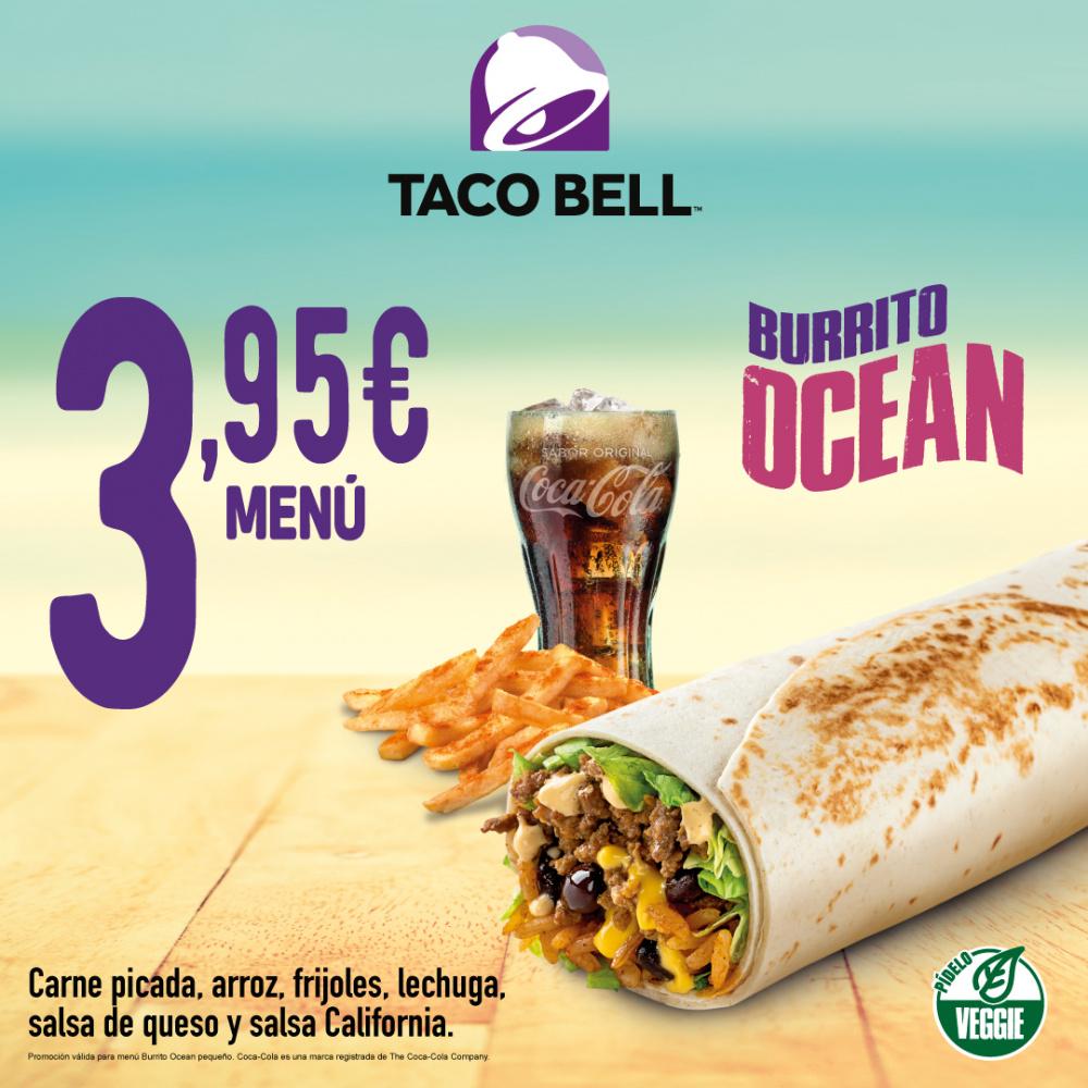 Menú Burrito Ocean