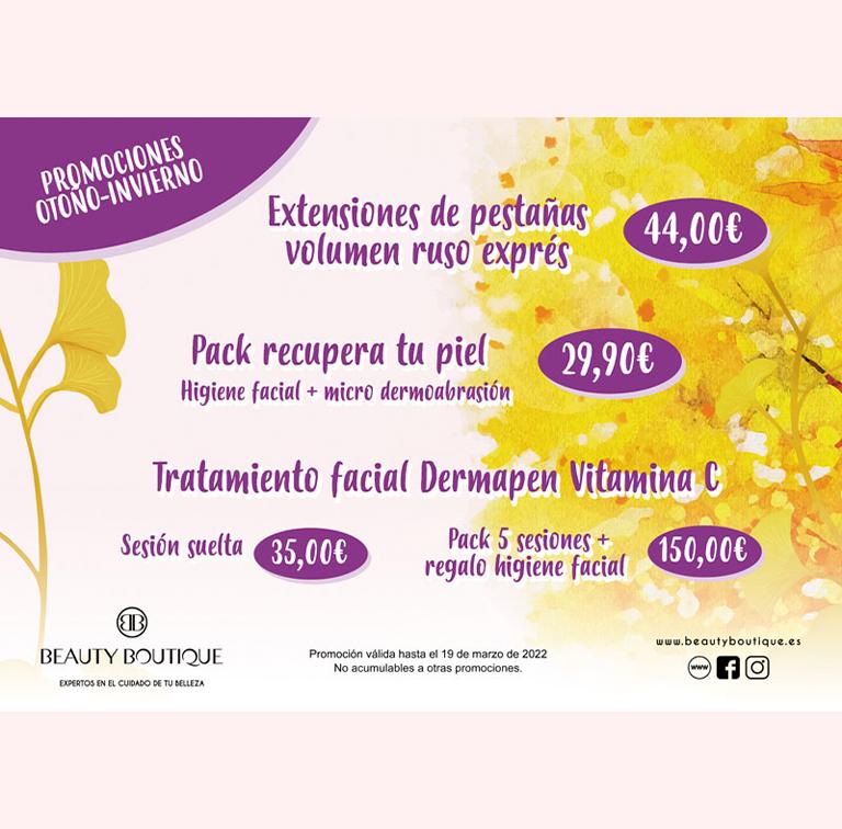 Promoción en Beauty Boutique