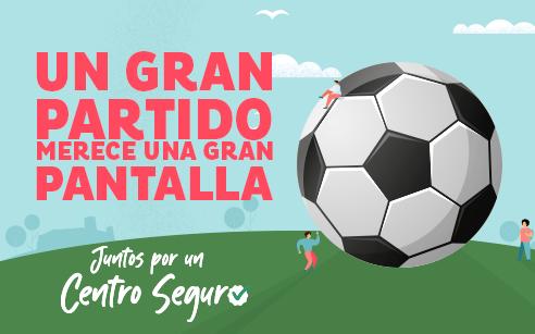 Vive el fútbol en directo y a lo grande en Miramar