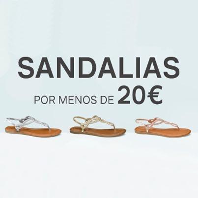 Por Miramar Centro DeichmannSandalias Comercial Menos De 20€ 8wOn0Pk