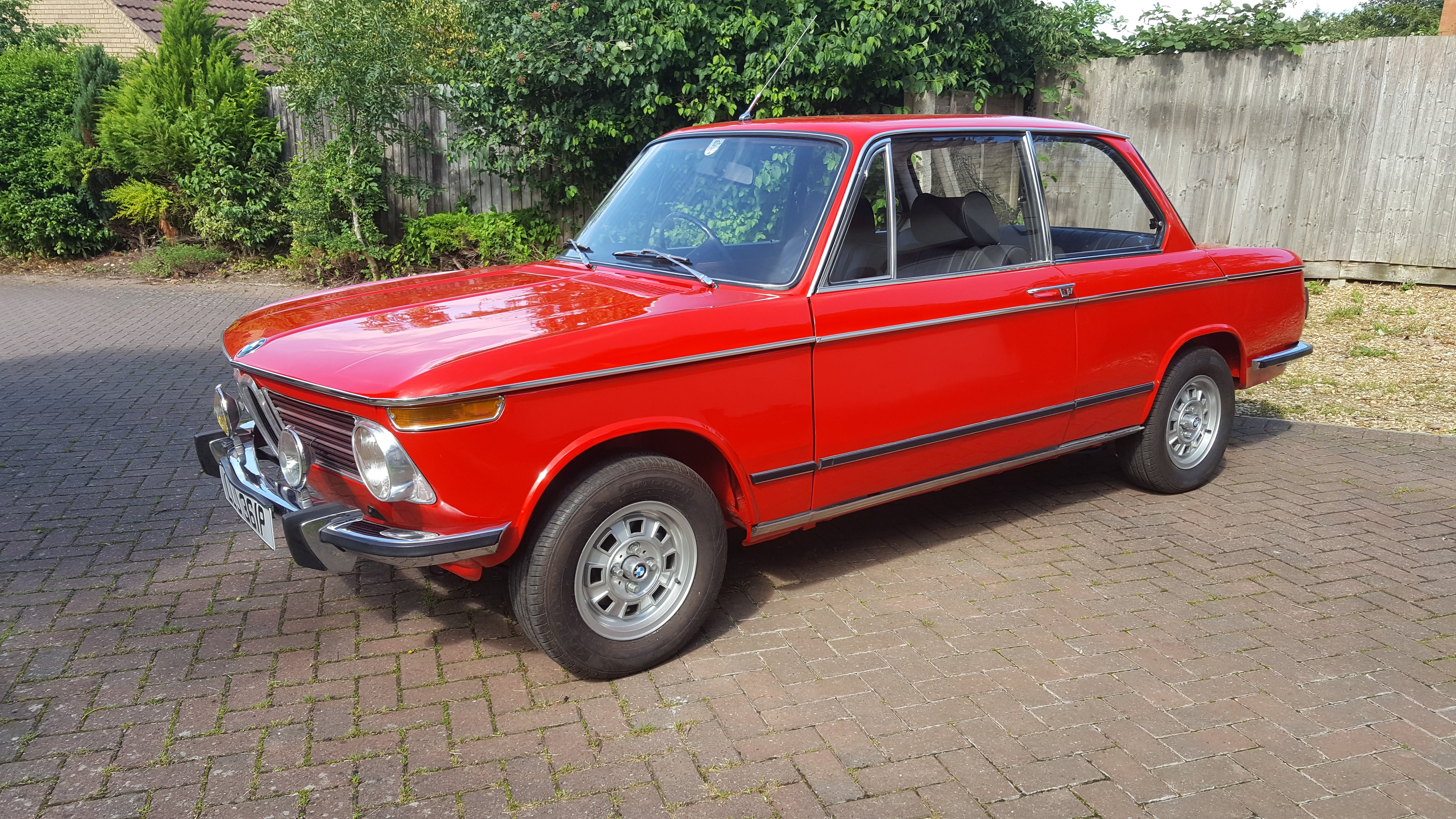 1975 Bmw 2002 Tii Lux Classic Car Auctions