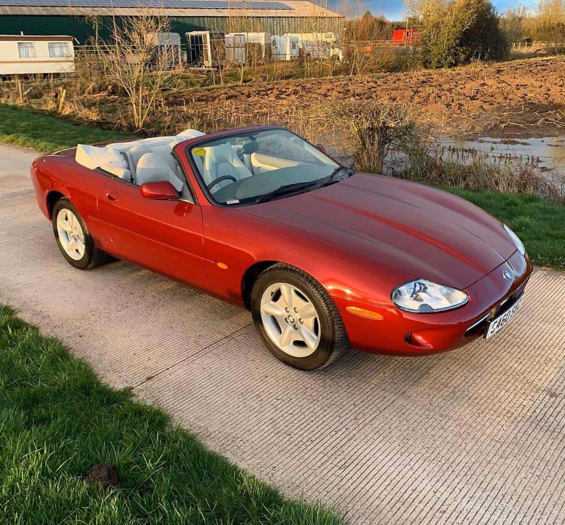 1998 Jaguar XK8 Convertible Auto - Classic Car Auctions