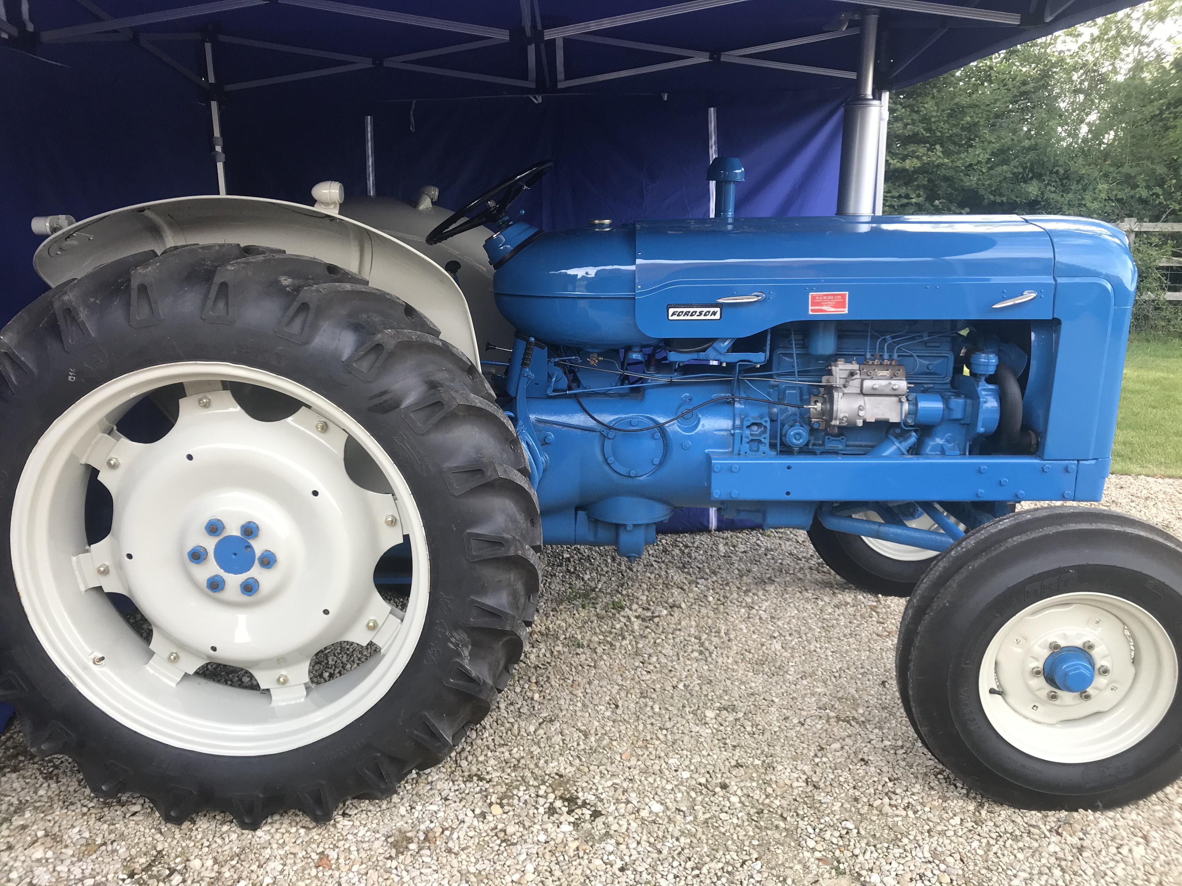 Engine fordson super major Fordson Super
