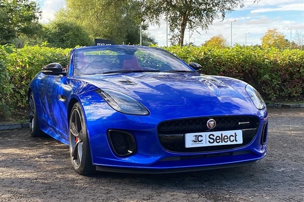 Large image for the Jaguar F Type