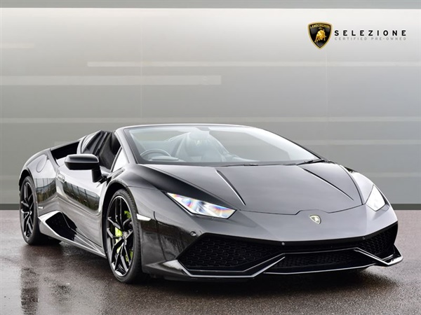 Large image for the Lamborghini Huracan Spyder