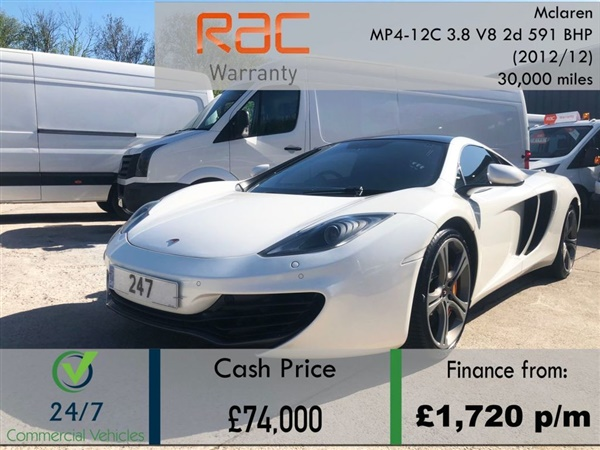 Large image for the Mclaren MP4-12C