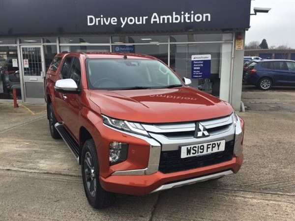 Large image for the Mitsubishi L200